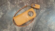 Japanese Redmoon Style Custom wallet Natural Beige Genuine Leather