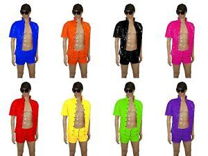 Sexy  PVC Vinyl Men's Underwear Boxer Shorts Pants Waist Size 28-36 UK NEW
