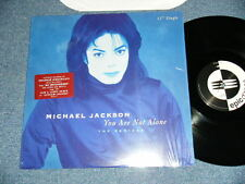 """MICHAEL JACKSON USA AMERICA Press 1995 NM 12"""" YOUR ARE NOT ALONE send from JAPAN"""