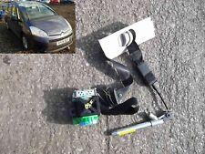 seat belt + pre tensioner front driver 9654964377 citroen c4 grand picasso 1.8