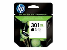 HP 301xl High Yield Black Original Ink Cartridge Ch563ee