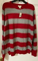 Sonoma Life + Style Long Sleeve Men's sweater size XL. 100% Cotton