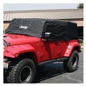 2007-2018 Jeep Wrangler JK BODY Unlimited 4 Door CAB COVER VEHICLE COVER MOPAR