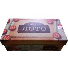 Russisches Lotto Spiel  Loto Brettspiel Familienspiel Lottospiel