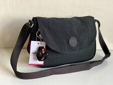 NEW! KIPLING DESPINA BLACK FLAP CROSSBODY SLING SHOULDER BAG PURSE $79 SALE