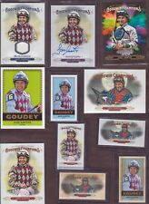 2018 Upper Deck Goodwin Champions Autograph Race Worn Lot Kentucky Derby Winner