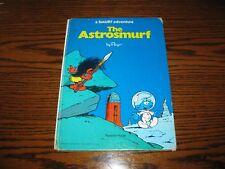 Vintage THE ASTROSMURF/KING SMURF Hardback Book!! Comic Strip Form!  1977-78