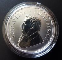 South Africa 2017 First Ever 50th Anniversary Silver UNC Krugerrand - Privy Mark