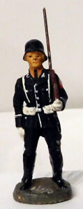 Elastolin German Leibstandarte Soldier #1