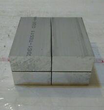 4 Pc 1 X 2 X 4 Long New 6061 Solid Aluminum Plate Flat Stock Bar Cnc Block