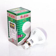 10W D-LITE ULTRA BRIGHT PURE COOL WHITE LED BULB B22 AC 220V (10WATT)
