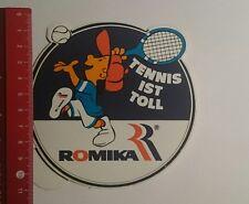 Aufkleber/Sticker: Romika Tennis ist toll (03111616)