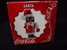 Coca-Cola 2005 SANTA Toma lo bueno DA LO BUENO Christmas Decoration