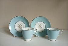 """Pair of Minton """"Ardsley"""" Demitasse Cups and Saucers"""