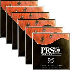 6 Sets of PRS Paul Reed Smith ACC-3104 Electric Guitar Strings (9.5-44)
