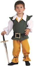 Déguisement Garçon Paysan Médiéval 4 Ans Costume Tavernier Moyen Age