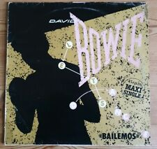 "David Bowie ""Bailemos"" Spanish 1st Press 12"" Vinyl Maxi Single 1983 EMI America"