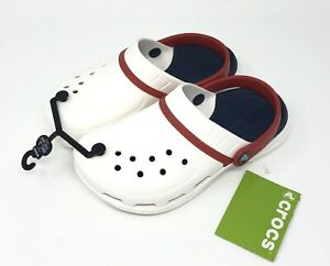 Crocs Modi Sport Clog Choose mens Size 4, 5, 13 WHITE New