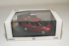 A2 1:43 NOREV PEUGEOT 807 METALLIC LIGHT RED MINT BOXED