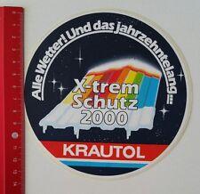 ADESIVI/Sticker: krautol X-TREM protezione 2000 (130217160)