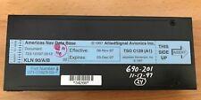 King KLN 90B Americas nav database cartridge