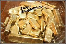 110 Grams Melted Drops Scrap Gold Plated Pins For Recovery Not Solid Gold