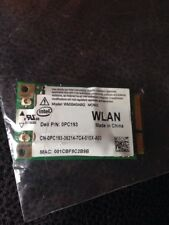 DELL WLAN 0PC193 WIFI CARD WM3945ABG INTEL