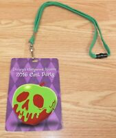 Disney's Hollywood Studios 2016 Cast Party Collectible Credential Lanyard