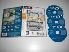 Civilization III COMPLETE Pc Cd Rom SO Sid Meier's Civ Civilisation 3 FAST POST