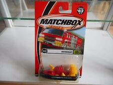 Matchbox Hovercraft in Red/Black on Blister