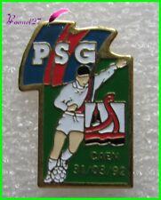 Pin's Sport FOOTBALL - PSG CAEN 31 Mars 1992 STARPINS  #385