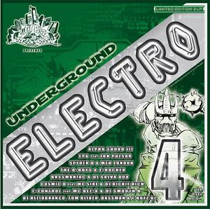 CBR UNDERGROUND ELECTRO VOL.4/Bass,Electro,Rap,Funk,VOCODER*Breakdance*Rare !!!!
