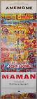 Affiche MAMAN Romain Goupil ANEMONE Arthur H. 60x160cm