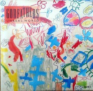 The Godfathers - Unreal World CD Single (CD 1991) (+ 3 Extra Tracks)