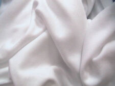 Anti-Pil Polar Fleece Dress Fabric White 150cms Wide SOLD BY THE METRE