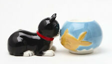 MAGNETIC SALT PEPPER SHAKER ATTRACTIVES CAT & FISH