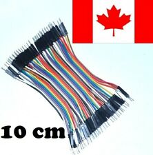 Male To Male 40 Piece Pin  Dupont Wire Cable 10cm Jumper Set for Arduino