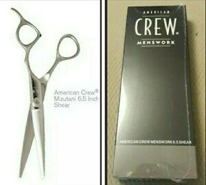 American Crew MIZUTANI Shears Scissors BlackSmith 6.5 RIGHTHANDED NEW SEALED