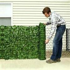 Artificial Garden Hedge Ivy Leaf Fence Roll Green Wall Balcony Privacy Screening