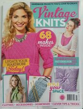Vintage Knits 68 Makes Inside Patterns For All Skill Levels FREE SHIPPING sb