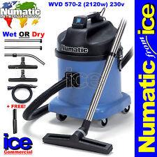 Numatic WVD570-2 Wet/Dry Twin Motor Industrial Commercial Vacuum Cleaner Builder