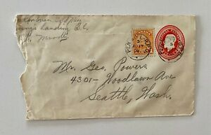 1931 uprated Cambrian Gold Mine Ewings Landing BC to Seattle Washington