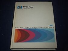 1987 HEWLETT PACKARD ELECTRONIC MEASUREMENT DESIGN COMPUTATION MANUAL - II 8973
