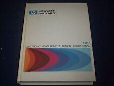 1987 HEWLETT PACKARD ELECTRONIC MEASUREMENT DESIGN COMPUTATION MANUAL - II 8973
