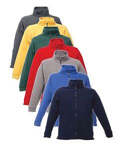 Regatta Stanton Fleece Hommes Légère Zip Complet Chaud Camping Veste de travail bleu