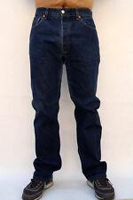 Levis 501 Standard Mens Blue Straight Leg Denim Cotton Vintage Jeans W34 L31