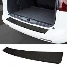 VW Caddy mk3 3 III 2k protezione PER PARAURTI POSTERIORE COPERTURA Guard trim davanzale nero in acciaio -