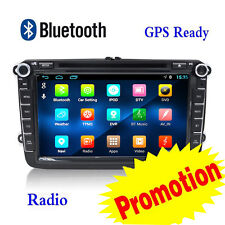 8'' 2Din Car Stereo DVD Player Android 6.0 Autoradio MP3 Head Unit GPS For VW