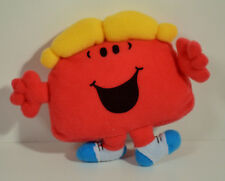 "RARE 1999 Little Miss Chatterbox 4.5"" McDonald's EUROPE Plush Action Figure"