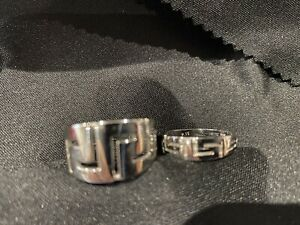 Greek Style His And Hers Wedding Rings